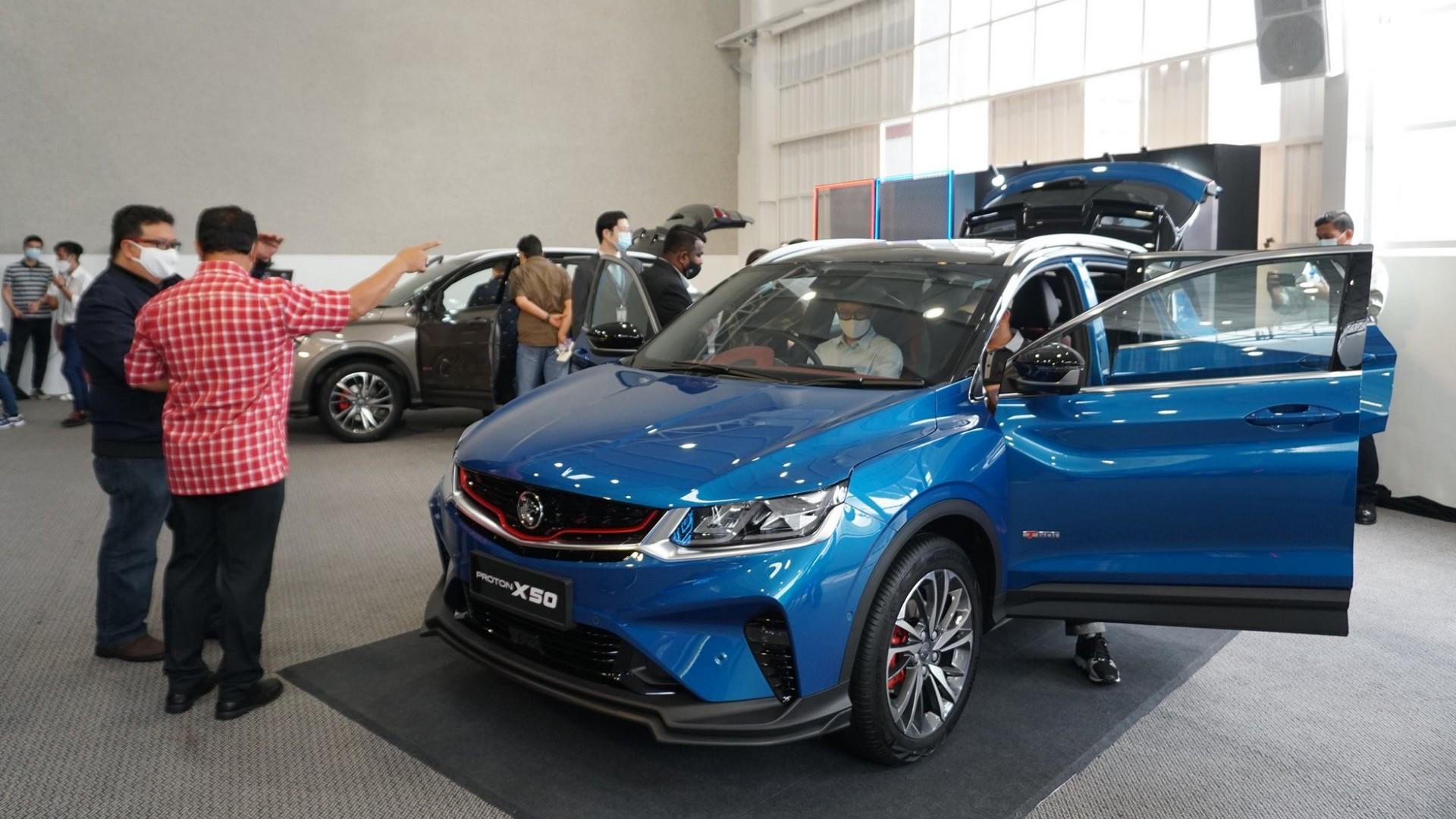 Фото автомобиля Proton X50