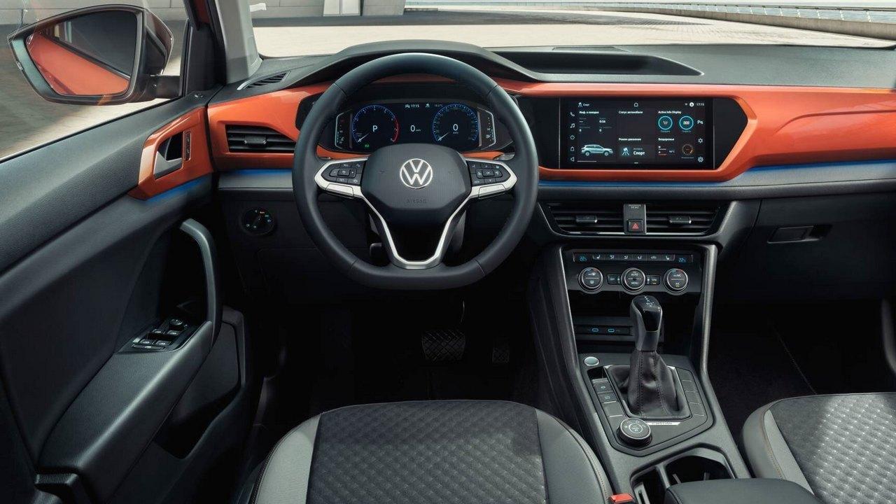 Салон автомобиля Volkswagen Taos